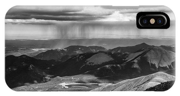 Sun And Rain On Pikes Peak IPhone Case