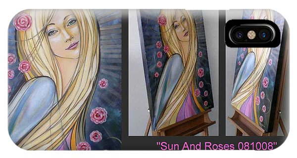 Sun And Roses 081008 Comp IPhone Case