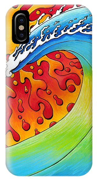Sun And Surf IPhone Case