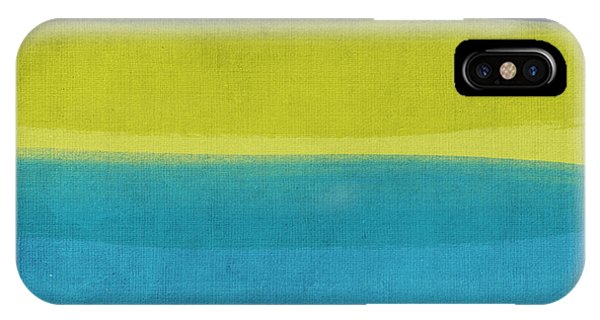 Aqua iPhone Case - Sun And Surf by Linda Woods