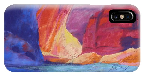 Sun Behind Rainbow Bridge IPhone Case