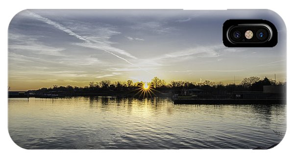 Sun Bursting Through Phone Case by Kris Rowlands