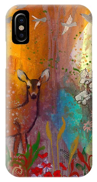Sun Deer IPhone Case