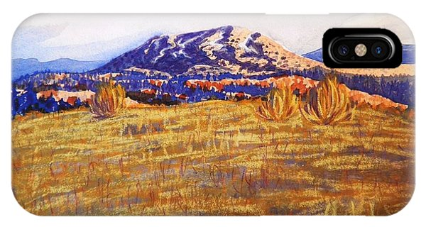 Sun-drenched Hills IPhone Case