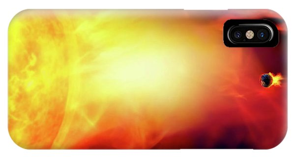 Sun Engulfing The Earth Phone Case by Victor Habbick Visions/science Photo Library