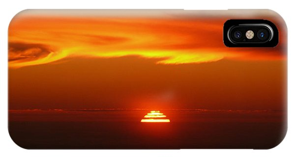 Sun Fire IPhone Case