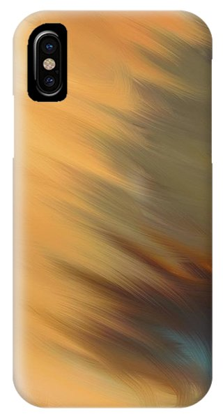 IPhone Case featuring the mixed media Sun Flare by Marian Palucci-Lonzetta