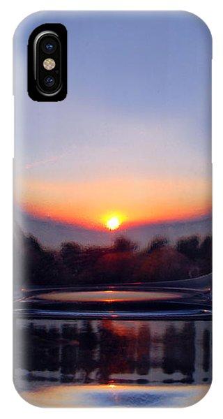 Sun In The Glass IPhone Case