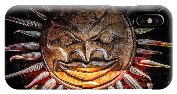 Sun Mask IPhone Case