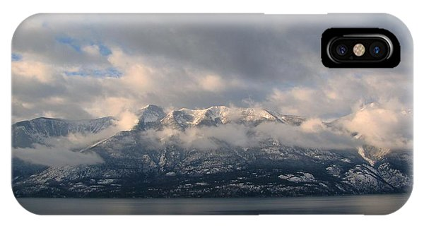 Sun On The Mountains IPhone Case