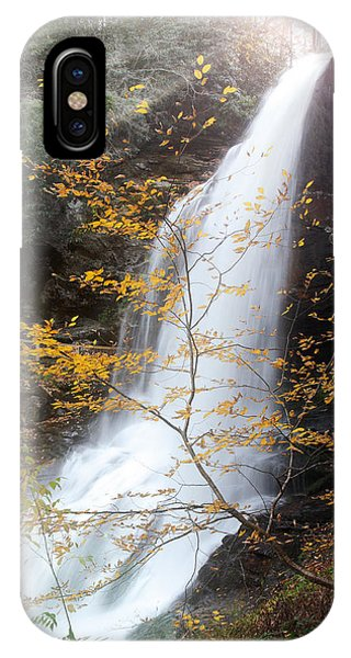 Sun Over Dry Falls Nc IPhone Case