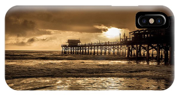 Sun Over The Pier IPhone Case