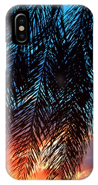Sun Palm IPhone Case