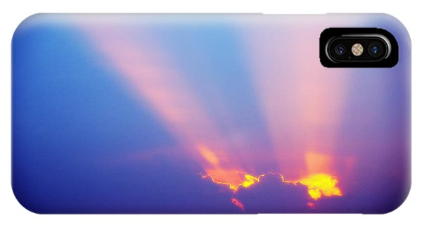 Sun Rays At Sunset IPhone Case