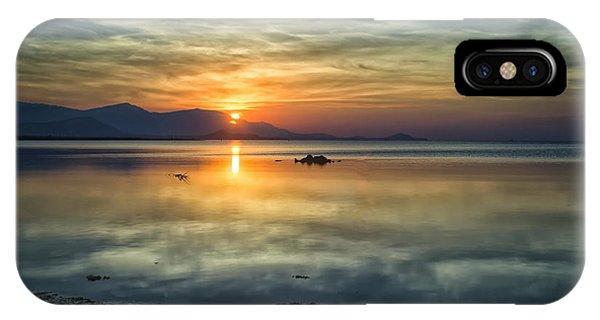 Sun Reflection IPhone Case