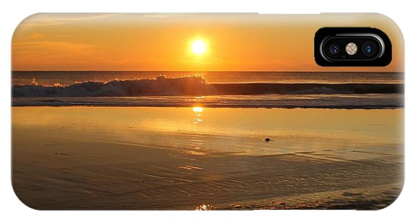 Sun Ripples IPhone Case