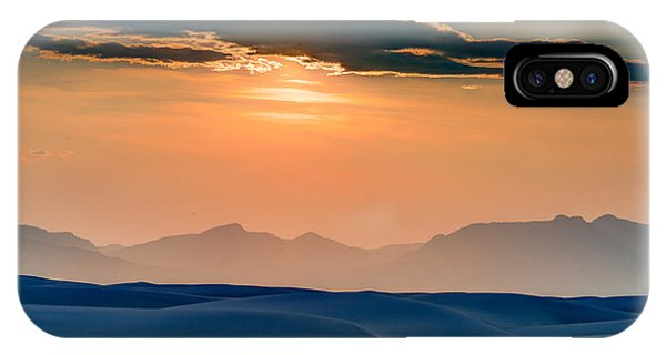 Sun Sand Mountains IPhone Case