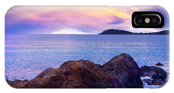 Sun Set Over St. Thomas IPhone Case