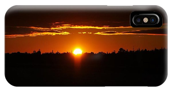Sun Sets Over Huron IPhone Case