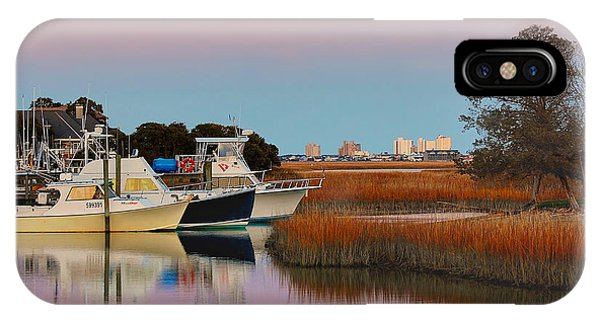 Sun Setting At Murrells Inlet IPhone Case