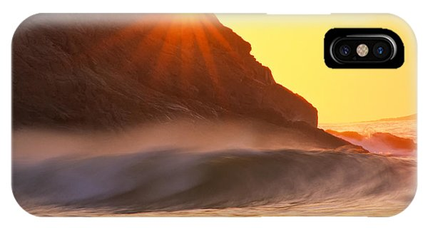 Sun Star Singing Beach IPhone Case