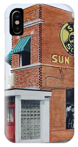 Sun Studio IPhone Case