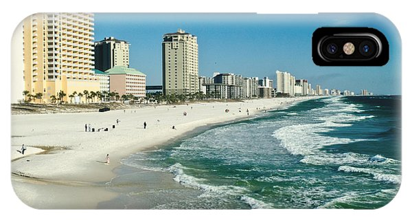 Sun Surf Sand And Condos IPhone Case