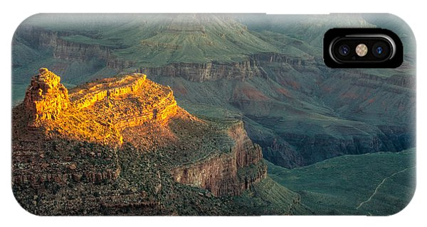 IPhone Case featuring the photograph Sun-up At Grand Canyon Mike-hope by Michael Hope