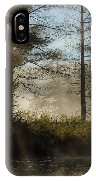 Sun Up At Lowell Lake 2 IPhone Case