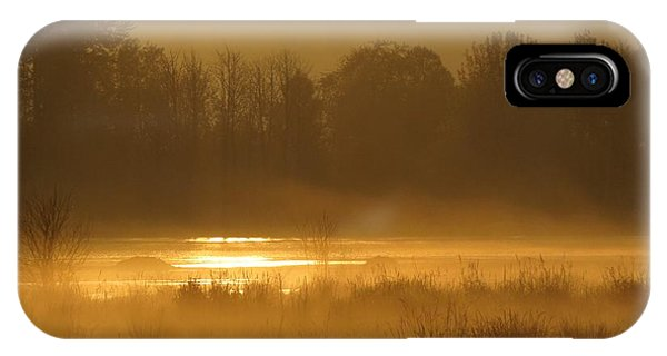 Sun Up At The Refuge IPhone Case