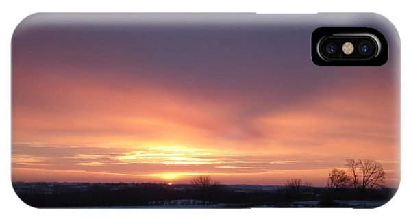 Sun Up In January IPhone Case