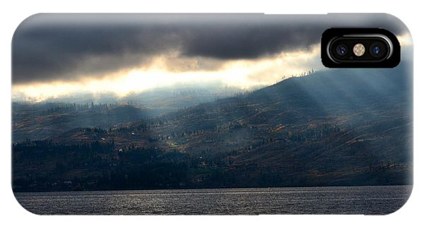 Sunbeams On The Mission II Phone Case by Phil Dionne