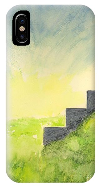 Sunburst And Stairs IPhone Case