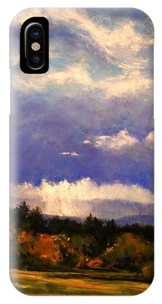iPhone Case - Sunburst At Ridgefield Refuge by Jim Gola