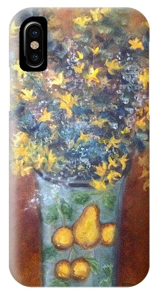 Sunburst Floral IPhone Case