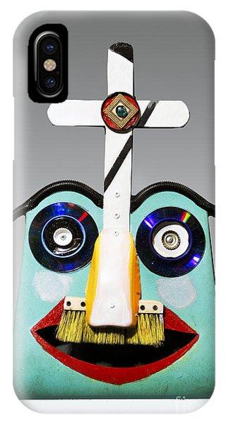Sunday Mask IPhone Case
