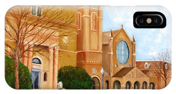 Sunday Mass At St. James Rc Church IPhone Case