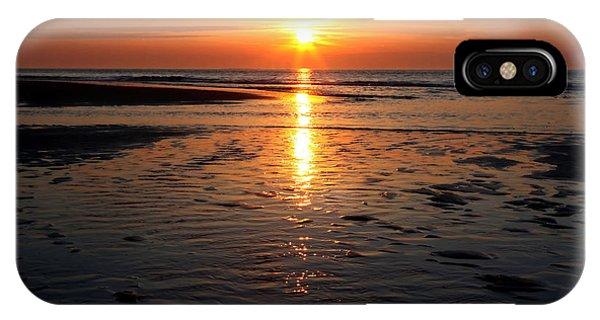 Sundown At The North Sea IPhone Case