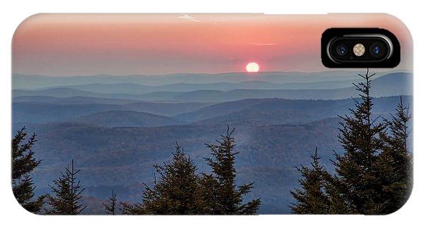 Sundown From Spruce Knob IPhone Case