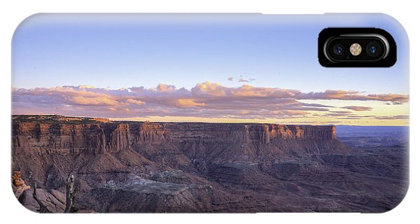 Sundown Green River Overlook IPhone Case