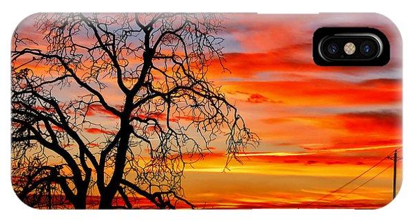 Sundown On Jeffcoat IPhone Case