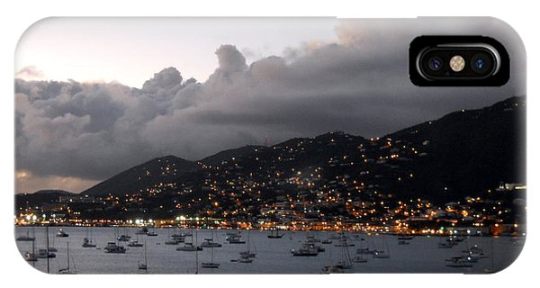 IPhone Case featuring the photograph Sundown On St. Thomas by Judy Hall-Folde