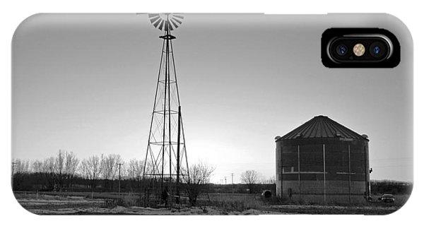 Sundown On The Farm IPhone Case