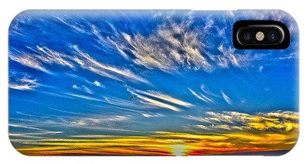Sundown Over Pacific IPhone Case
