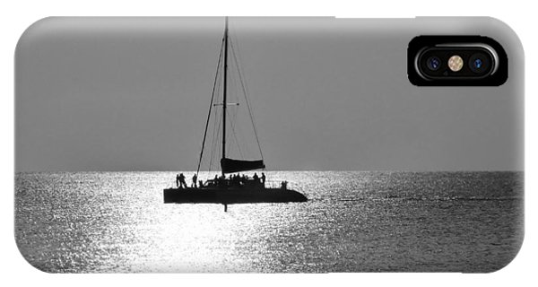 Sundown Sail IPhone Case