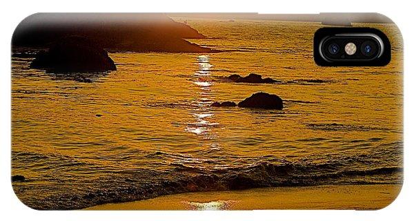 Sundown Sea IPhone Case