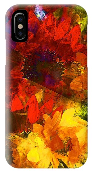 Sunflower 11 IPhone Case