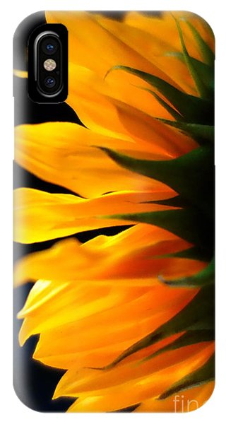 IPhone Case featuring the photograph Sunflower 2 by Jacqueline Athmann