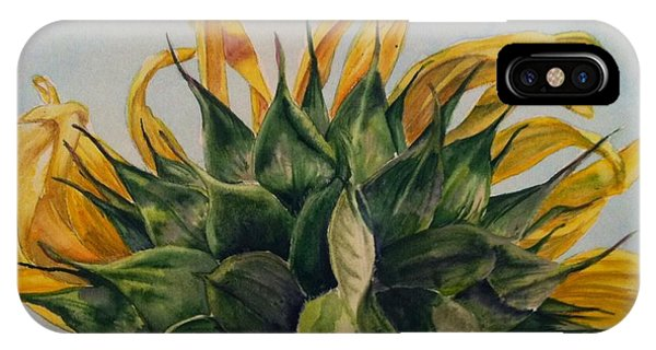 Sunflower 3 IPhone Case