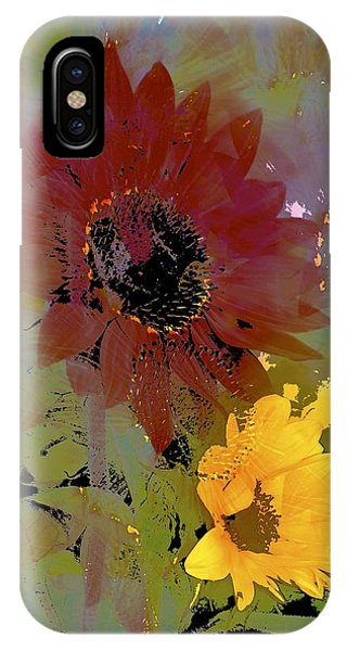 Sunflower 33 IPhone Case